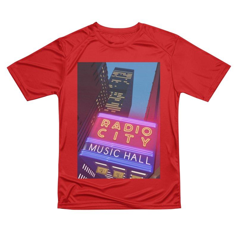 Radio City Music Hall Women's Performance Unisex T-Shirt by Pig's Ear Gear on Threadless