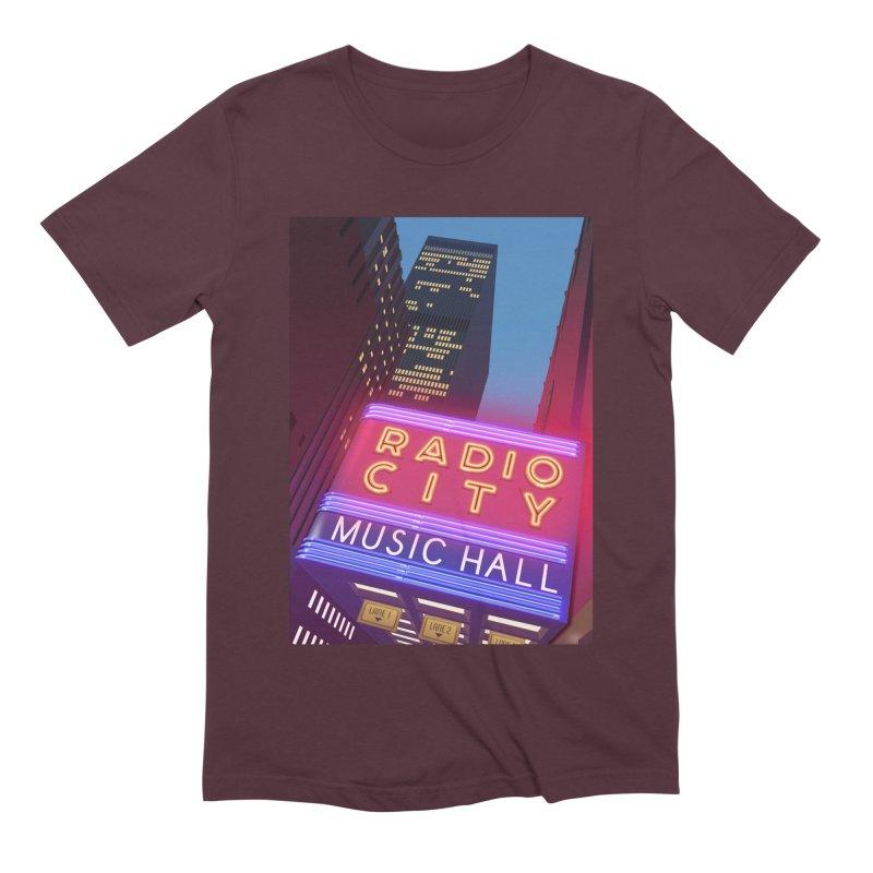 Radio City Music Hall Men's Extra Soft T-Shirt by Pig's Ear Gear on Threadless
