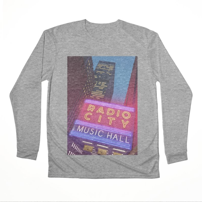 Radio City Music Hall Women's Performance Unisex Longsleeve T-Shirt by Pig's Ear Gear on Threadless