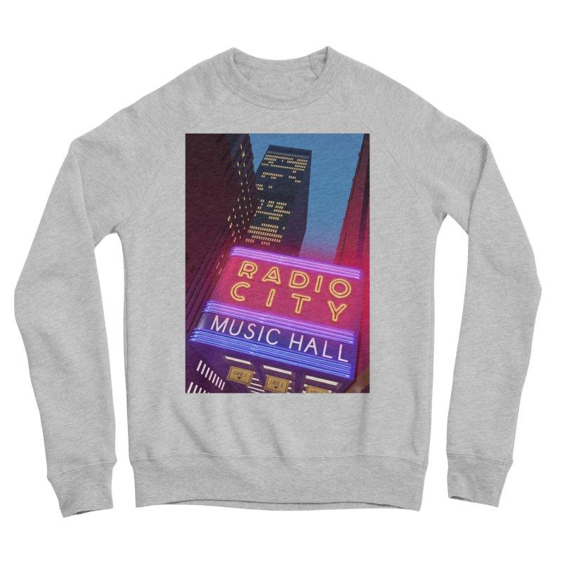 Radio City Music Hall Women's Sponge Fleece Sweatshirt by Pig's Ear Gear on Threadless