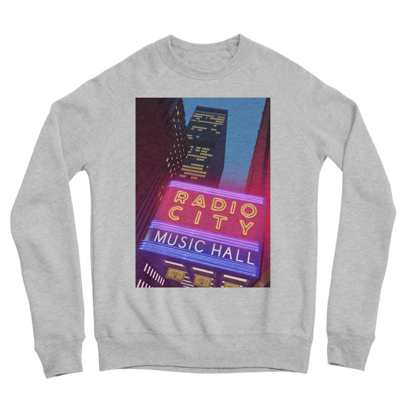 Radio City Music Hall Men's Sponge Fleece Sweatshirt by Pig's Ear Gear on Threadless
