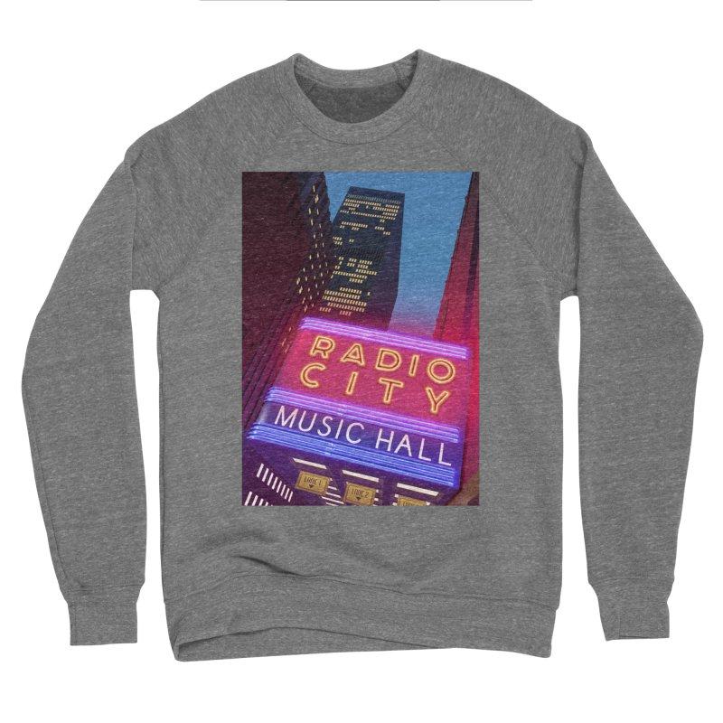 Radio City Music Hall Men's Sponge Fleece Sweatshirt by Pig's Ear Gear on Threadless