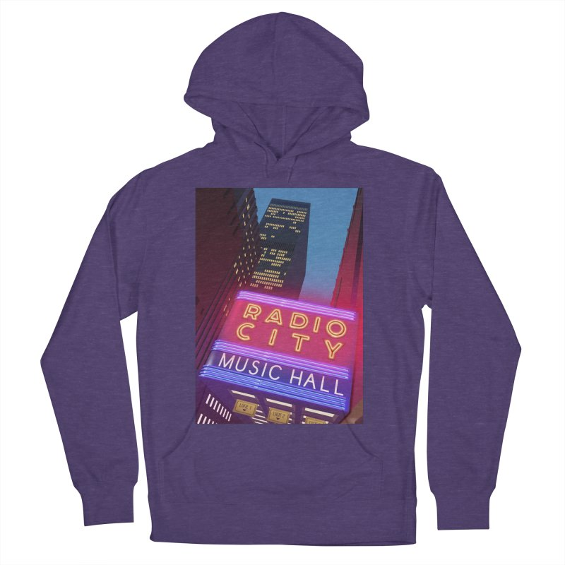 Radio City Music Hall Men's French Terry Pullover Hoody by Pig's Ear Gear on Threadless