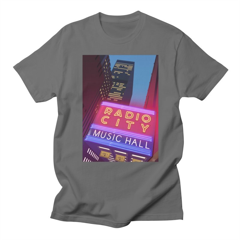 Radio City Music Hall Men's T-Shirt by Pig's Ear Gear on Threadless