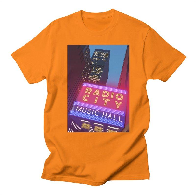 Radio City Music Hall Women's Regular Unisex T-Shirt by Pig's Ear Gear on Threadless