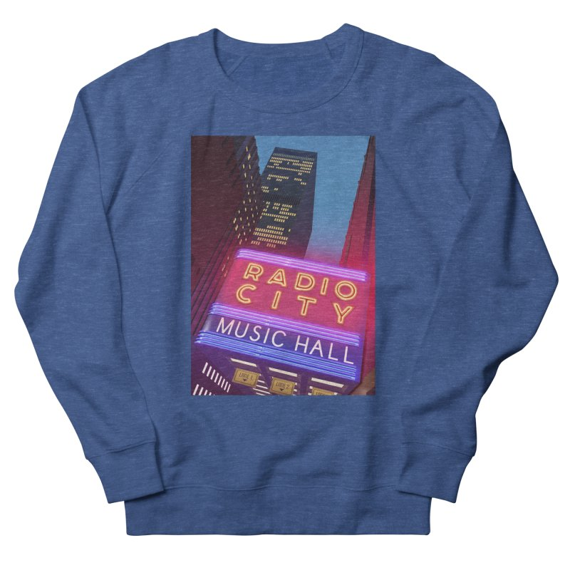Radio City Music Hall Men's French Terry Sweatshirt by Pig's Ear Gear on Threadless