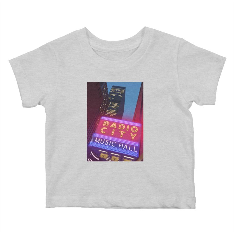 Radio City Music Hall Kids Baby T-Shirt by Pig's Ear Gear on Threadless