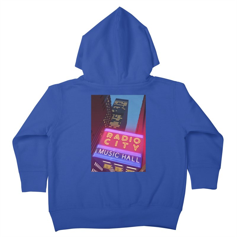 Radio City Music Hall Kids Toddler Zip-Up Hoody by Pig's Ear Gear on Threadless