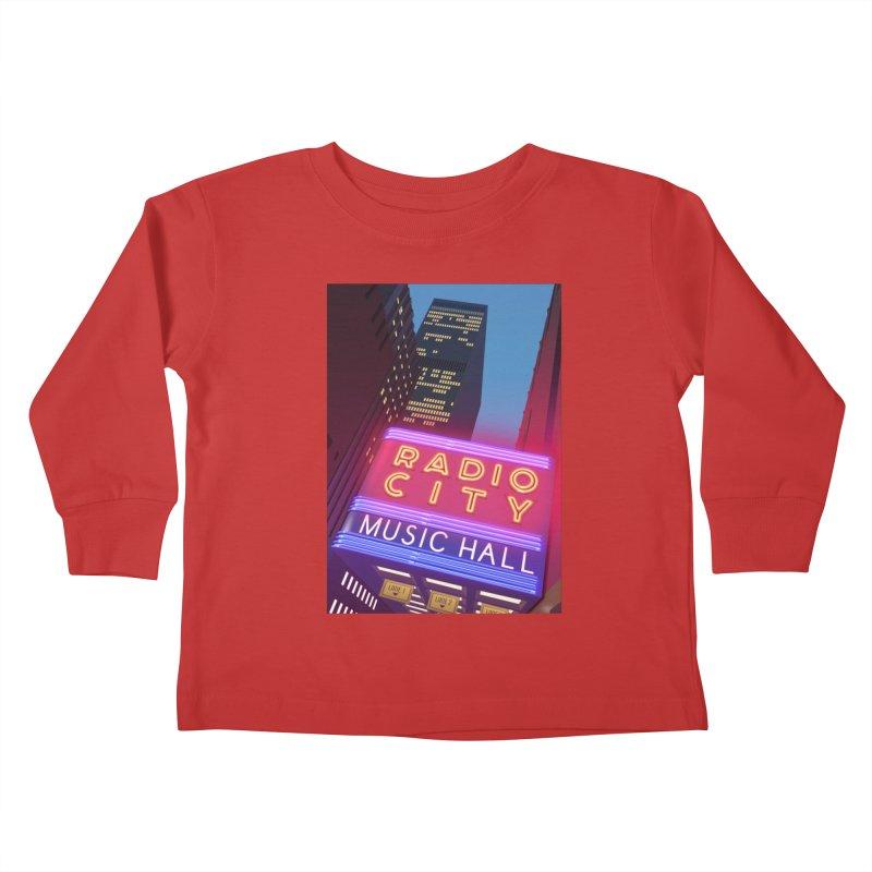 Radio City Music Hall Kids Toddler Longsleeve T-Shirt by Pig's Ear Gear on Threadless