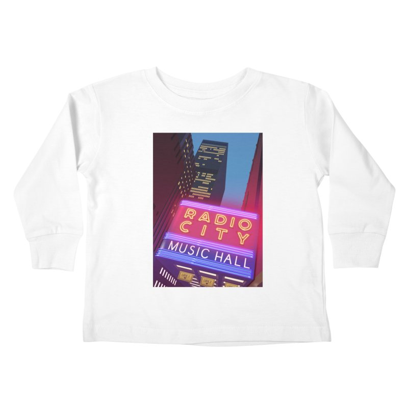 Radio City Music Hall Kids Toddler Longsleeve T-Shirt by Pig's Ear Gear on Threadless