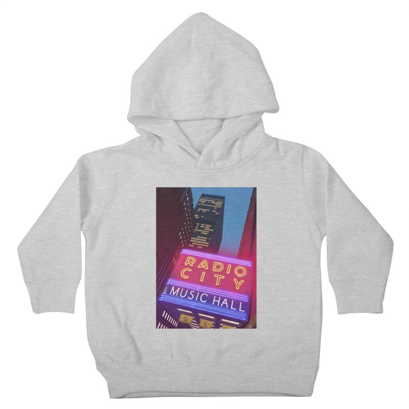 Radio City Music Hall Kids Toddler Pullover Hoody by Pig's Ear Gear on Threadless