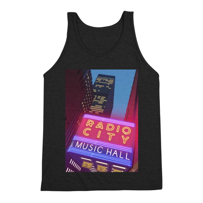 Radio City Music Hall Men's Triblend Tank by Pig's Ear Gear on Threadless