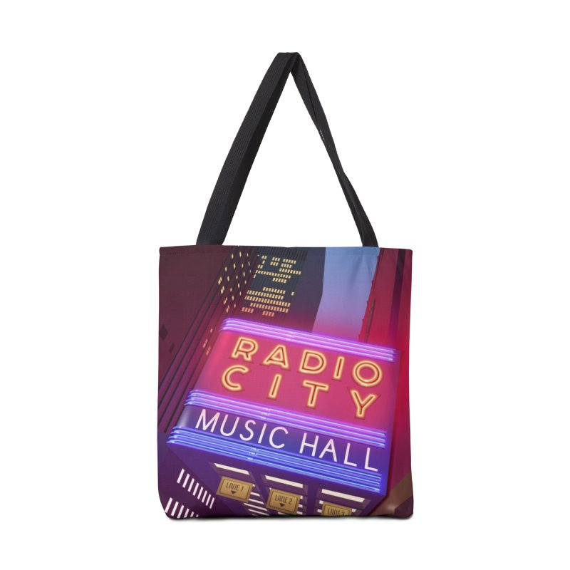 Radio City Music Hall Accessories Tote Bag Bag by Pig's Ear Gear on Threadless
