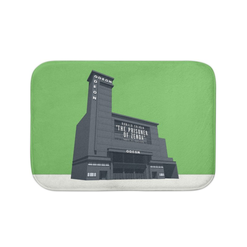 ODEON Leicester Square Home Bath Mat by Pig's Ear Gear on Threadless