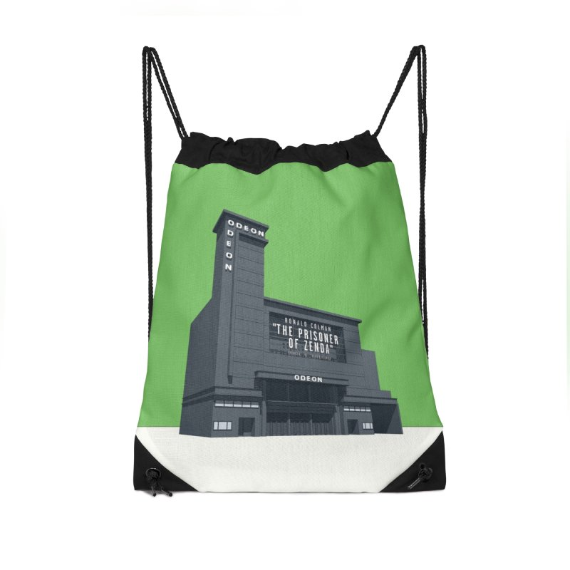 ODEON Leicester Square Accessories Drawstring Bag Bag by Pig's Ear Gear on Threadless