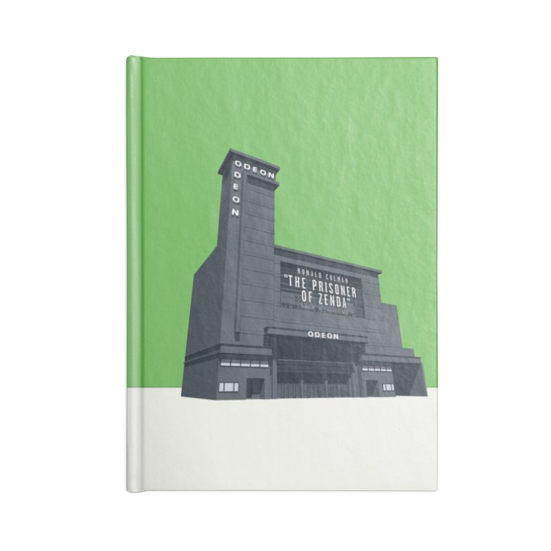 ODEON Leicester Square Accessories Blank Journal Notebook by Pig's Ear Gear on Threadless