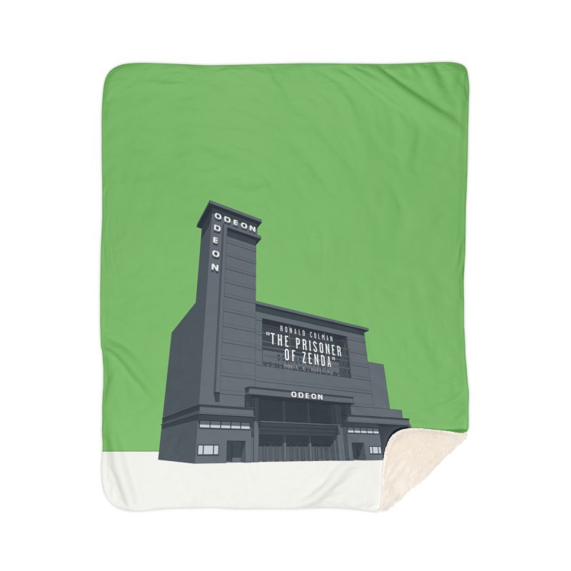 ODEON Leicester Square Home Sherpa Blanket Blanket by Pig's Ear Gear on Threadless