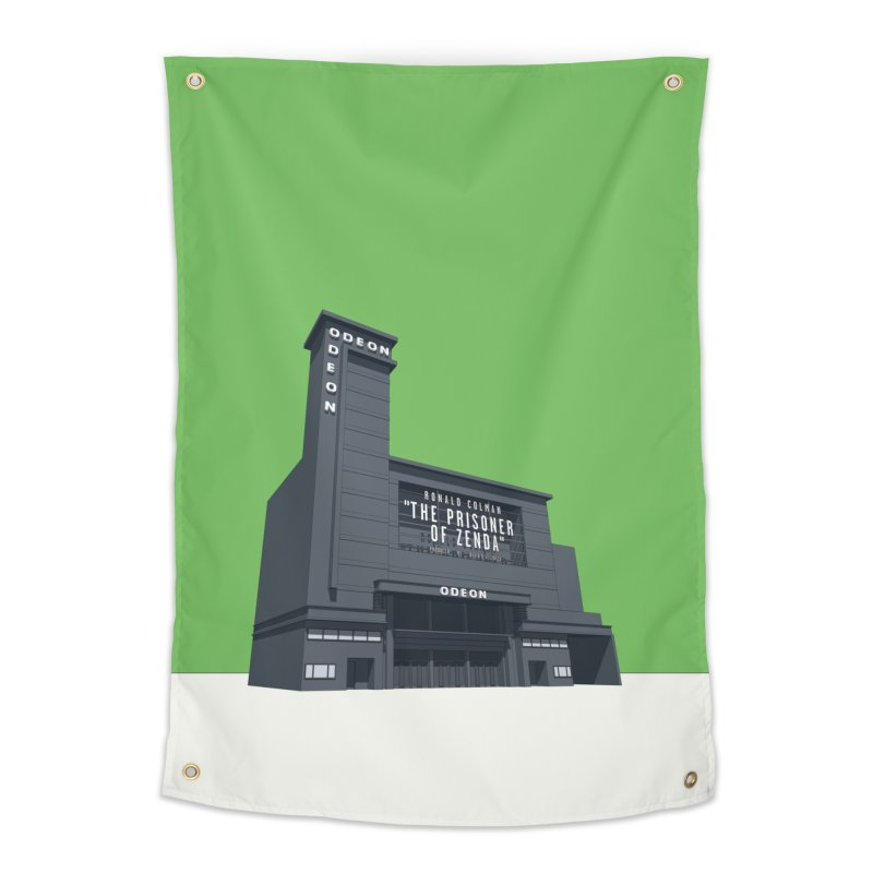 ODEON Leicester Square Home Tapestry by Pig's Ear Gear on Threadless