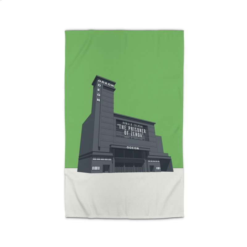 ODEON Leicester Square Home Rug by Pig's Ear Gear on Threadless