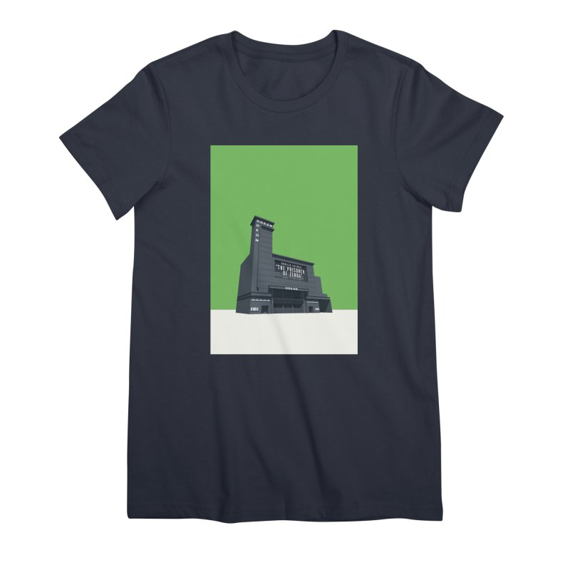 ODEON Leicester Square Women's Premium T-Shirt by Pig's Ear Gear on Threadless