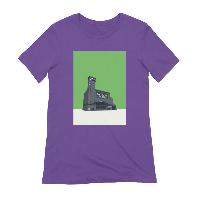 ODEON Leicester Square Women's Extra Soft T-Shirt by Pig's Ear Gear on Threadless