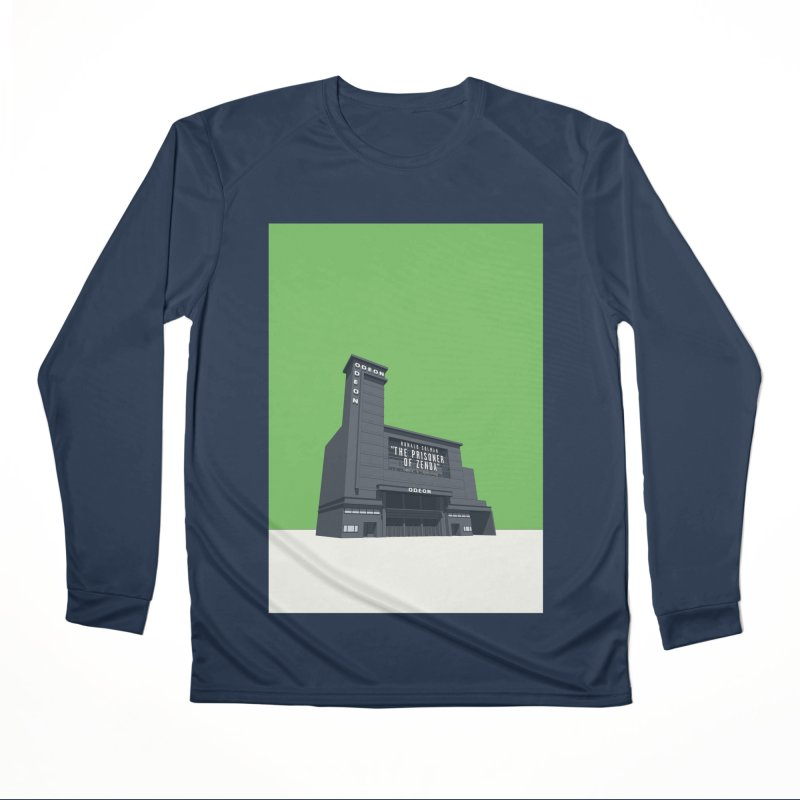 ODEON Leicester Square Women's Performance Unisex Longsleeve T-Shirt by Pig's Ear Gear on Threadless
