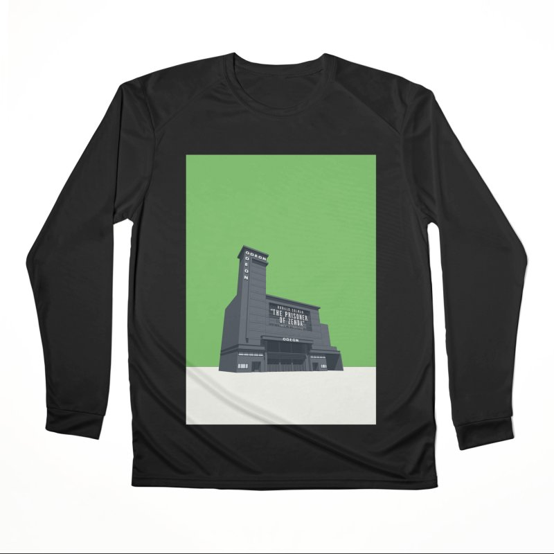 ODEON Leicester Square Men's Performance Longsleeve T-Shirt by Pig's Ear Gear on Threadless