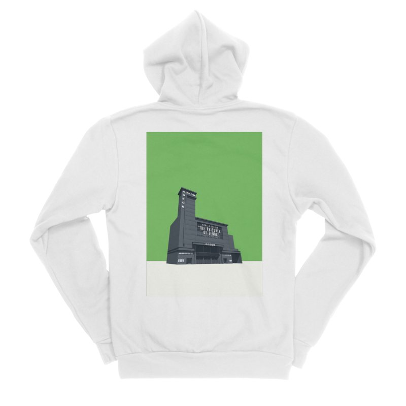 ODEON Leicester Square Men's Sponge Fleece Zip-Up Hoody by Pig's Ear Gear on Threadless
