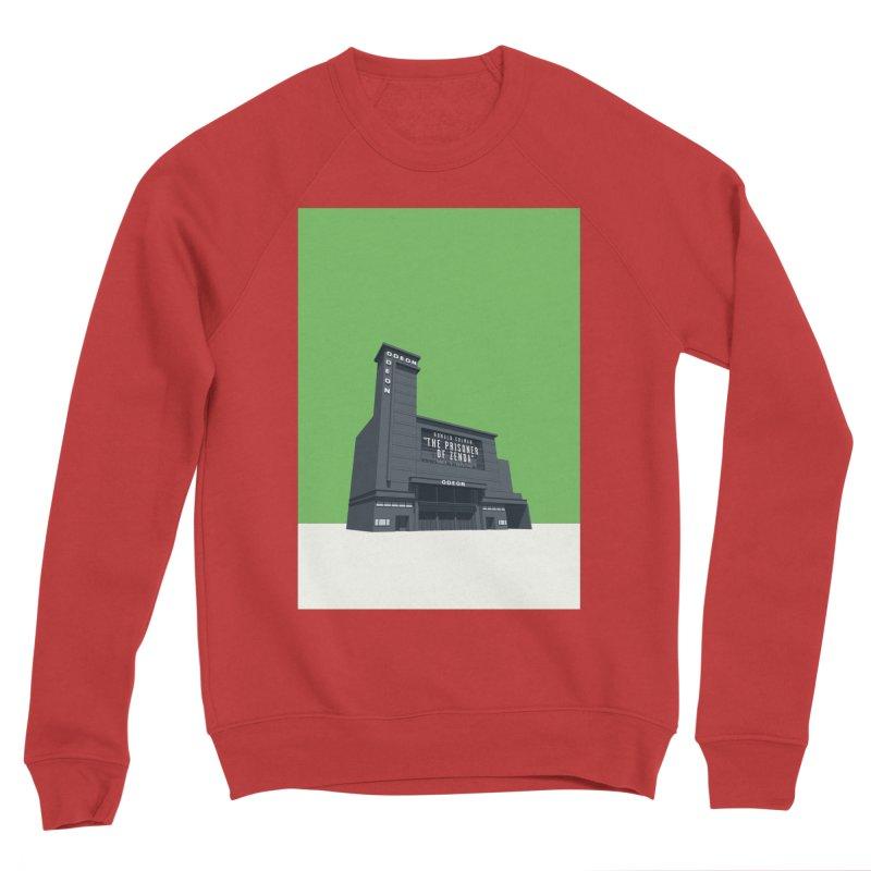 ODEON Leicester Square Men's Sponge Fleece Sweatshirt by Pig's Ear Gear on Threadless