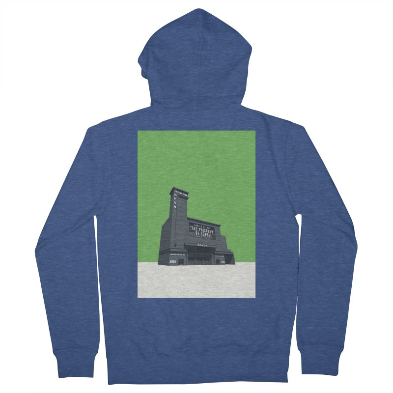 ODEON Leicester Square Women's French Terry Zip-Up Hoody by Pig's Ear Gear on Threadless