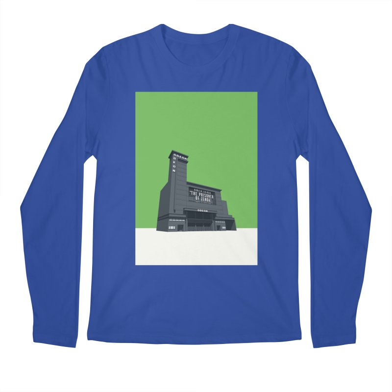 ODEON Leicester Square Men's Regular Longsleeve T-Shirt by Pig's Ear Gear on Threadless