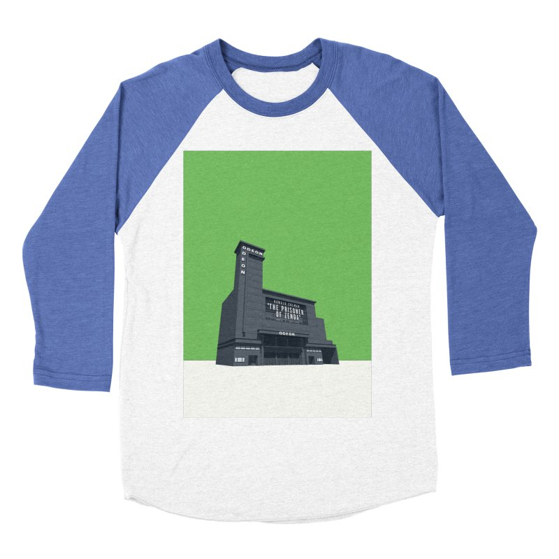 ODEON Leicester Square Men's Baseball Triblend Longsleeve T-Shirt by Pig's Ear Gear on Threadless