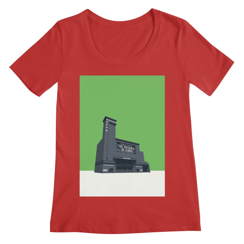 ODEON Leicester Square Women's Regular Scoop Neck by Pig's Ear Gear on Threadless