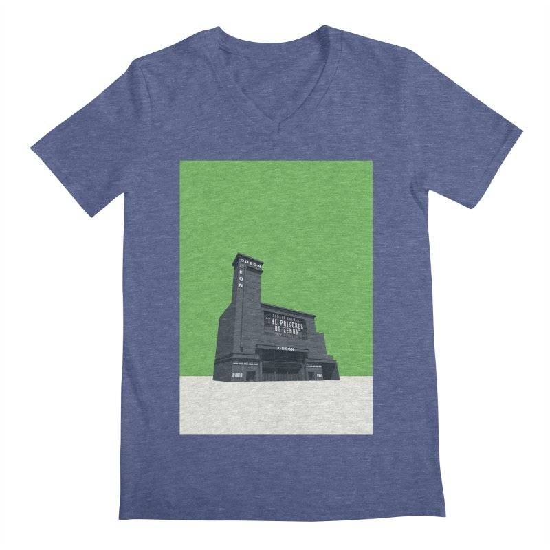ODEON Leicester Square Men's Regular V-Neck by Pig's Ear Gear on Threadless