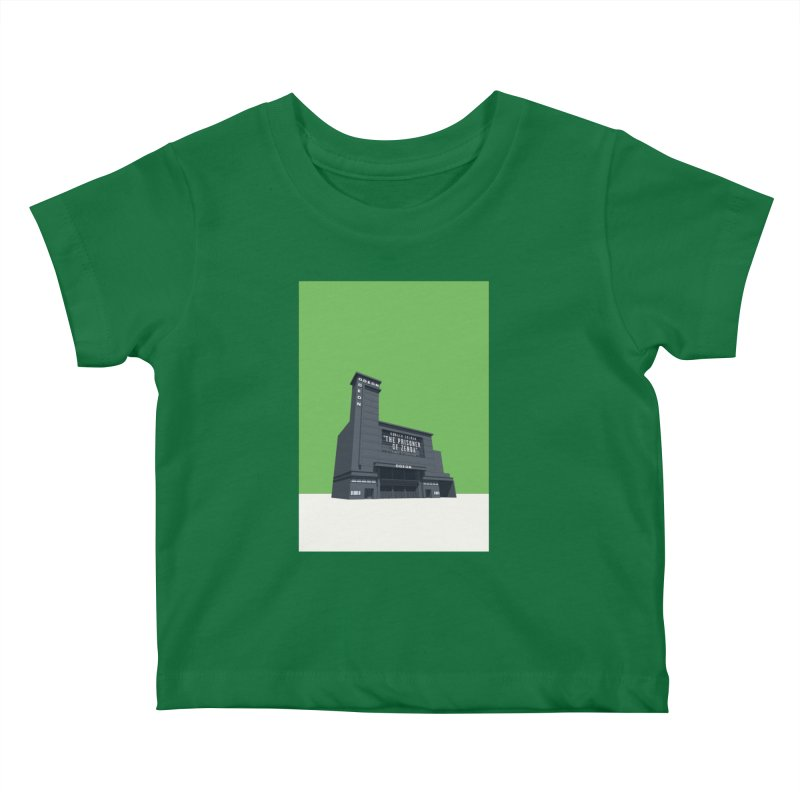 ODEON Leicester Square Kids Baby T-Shirt by Pig's Ear Gear on Threadless