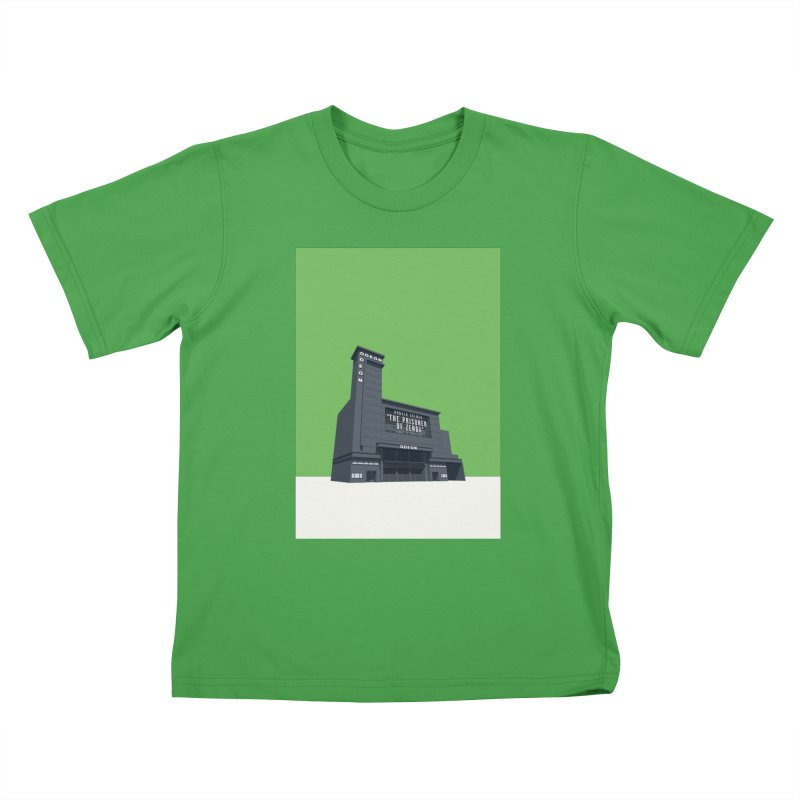 ODEON Leicester Square Kids T-Shirt by Pig's Ear Gear on Threadless