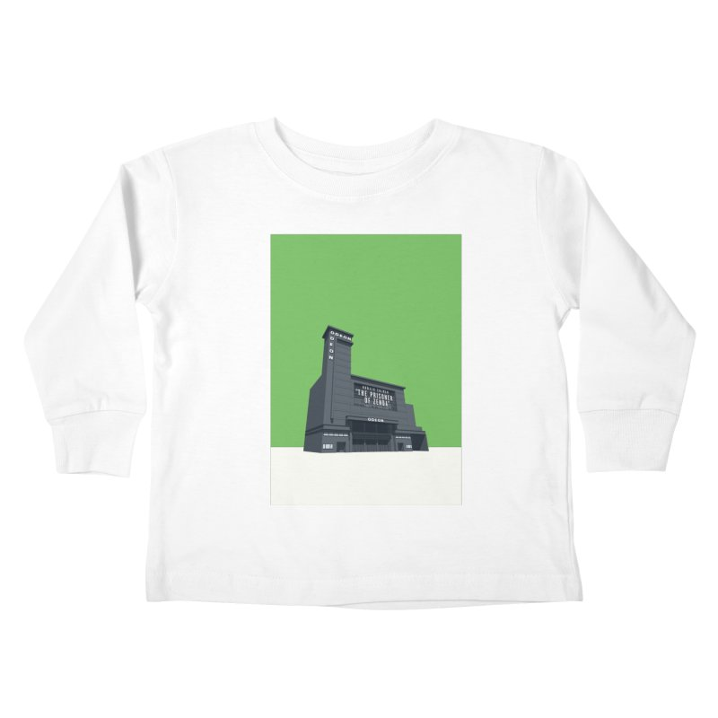 ODEON Leicester Square Kids Toddler Longsleeve T-Shirt by Pig's Ear Gear on Threadless