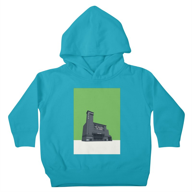 ODEON Leicester Square Kids Toddler Pullover Hoody by Pig's Ear Gear on Threadless