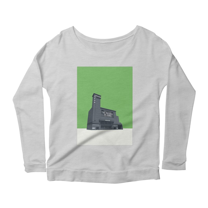 ODEON Leicester Square Women's Scoop Neck Longsleeve T-Shirt by Pig's Ear Gear on Threadless