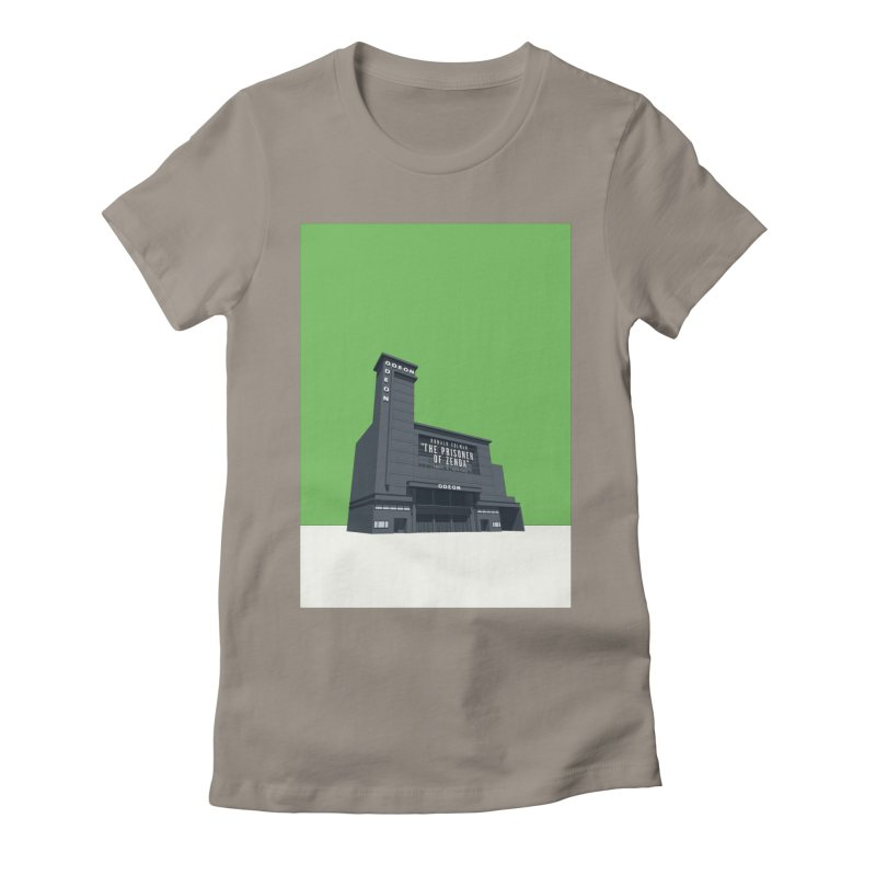 ODEON Leicester Square Women's Fitted T-Shirt by Pig's Ear Gear on Threadless