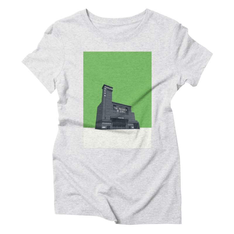 ODEON Leicester Square Women's Triblend T-Shirt by Pig's Ear Gear on Threadless