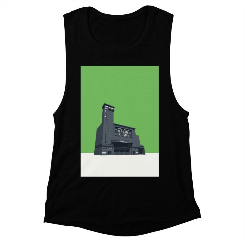 ODEON Leicester Square Women's Muscle Tank by Pig's Ear Gear on Threadless