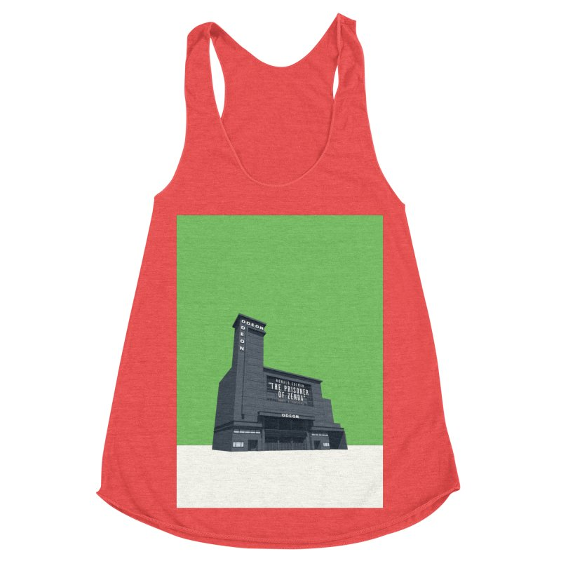 ODEON Leicester Square Women's Racerback Triblend Tank by Pig's Ear Gear on Threadless