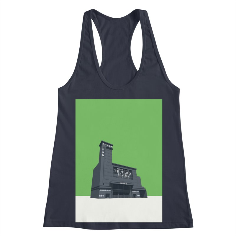 ODEON Leicester Square Women's Racerback Tank by Pig's Ear Gear on Threadless