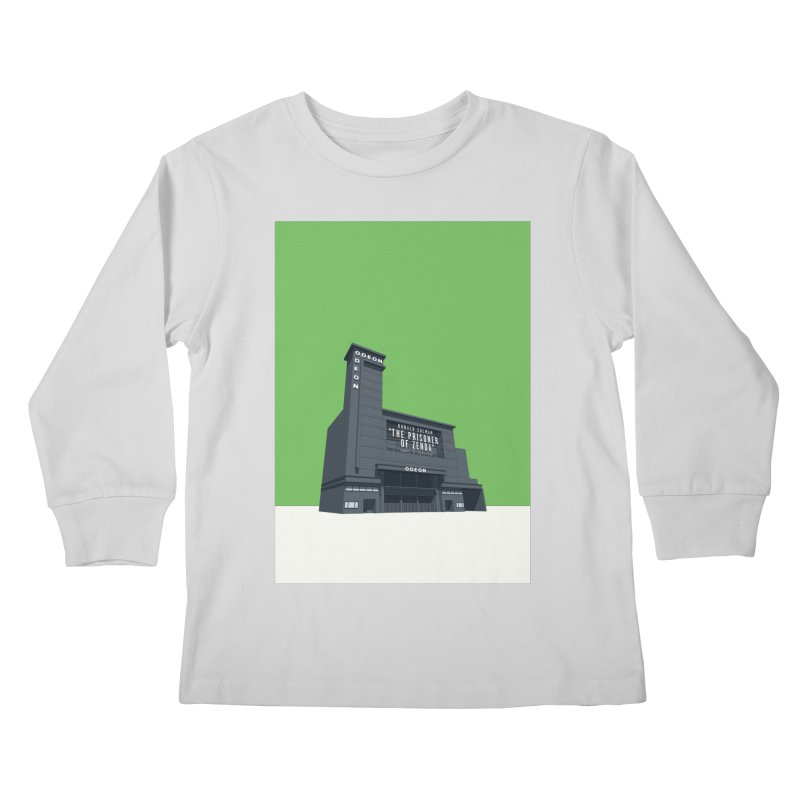 ODEON Leicester Square Kids Longsleeve T-Shirt by Pig's Ear Gear on Threadless