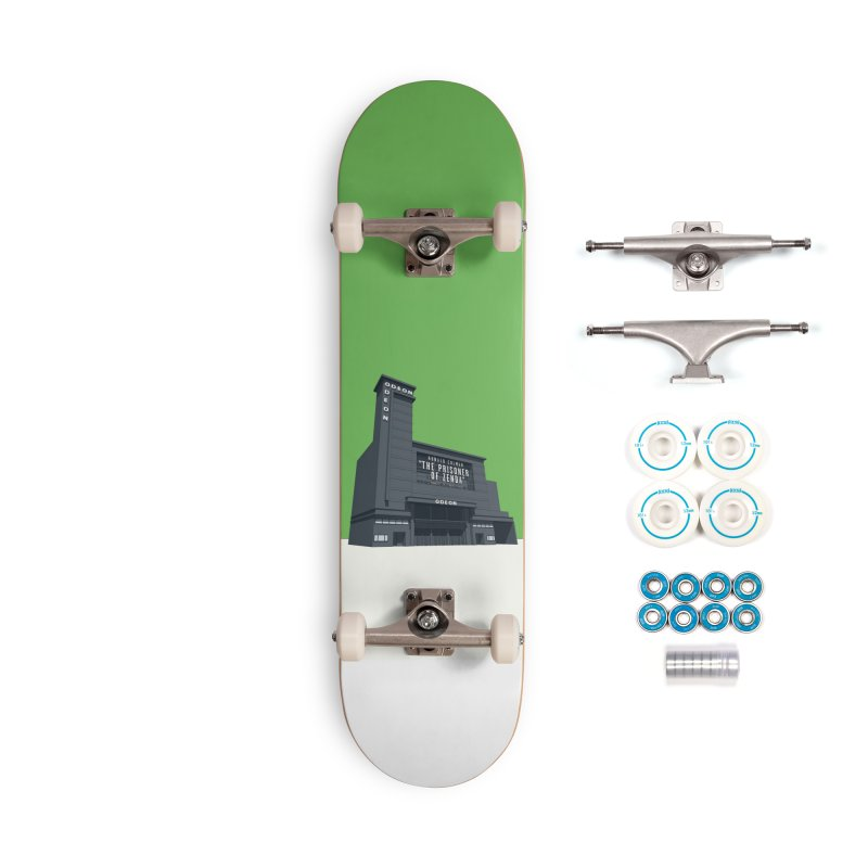 ODEON Leicester Square Accessories Complete - Basic Skateboard by Pig's Ear Gear on Threadless
