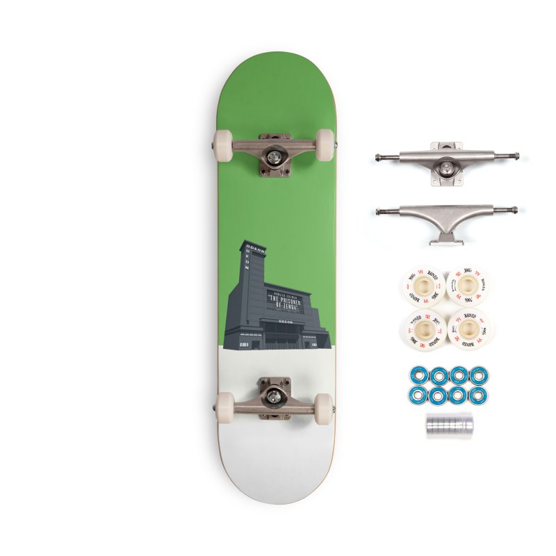 ODEON Leicester Square Accessories Complete - Premium Skateboard by Pig's Ear Gear on Threadless
