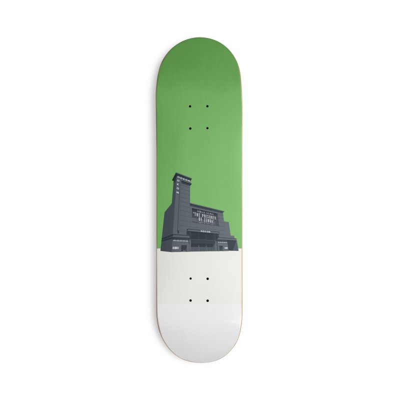 ODEON Leicester Square Accessories Deck Only Skateboard by Pig's Ear Gear on Threadless
