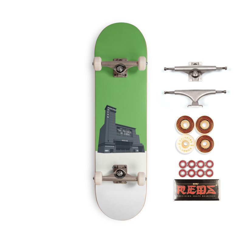 ODEON Leicester Square Accessories Skateboard by Pig's Ear Gear on Threadless