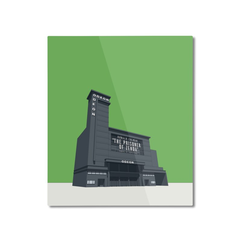ODEON Leicester Square Home Mounted Aluminum Print by Pig's Ear Gear on Threadless
